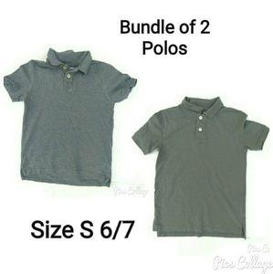Bundle of 2 Gray Polos